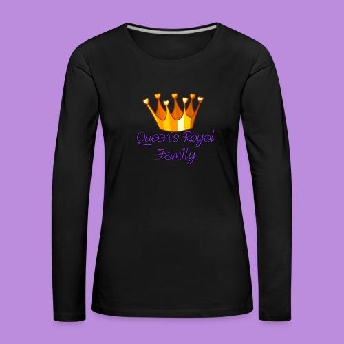 Female Sweatshirt - Women's Premium Longsleeve Shirt