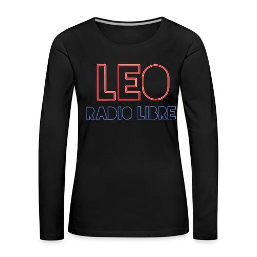 T-Shirt Manches Longues Femme LRL - T-shirt manches longues Premium Femme