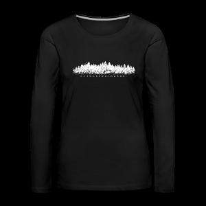 Schwarzwaldmädel (Weiß) Langarmshirt - Frauen Premium Langarmshirt