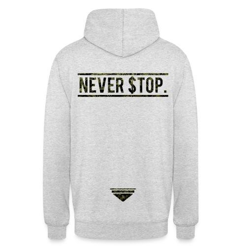 Never Stop Hoodie - Unisex Hoodie