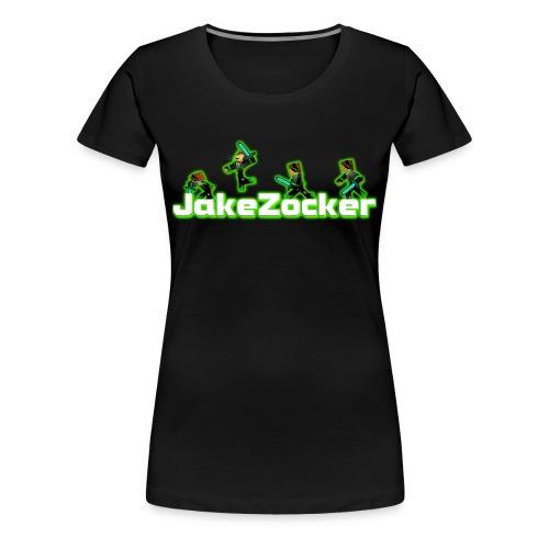 JakeZocker T-Shirt/W - Frauen Premium T-Shirt