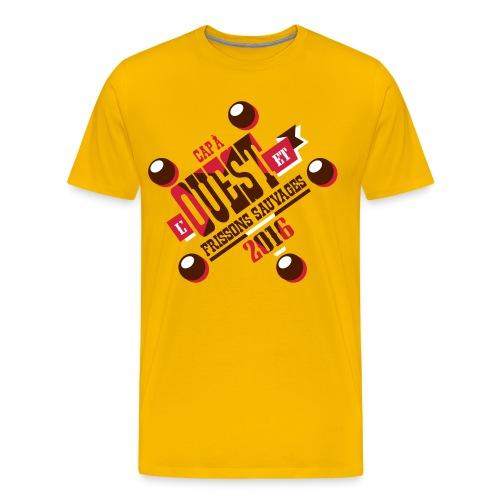 Cap à l'ouest - T-shirt Premium Homme