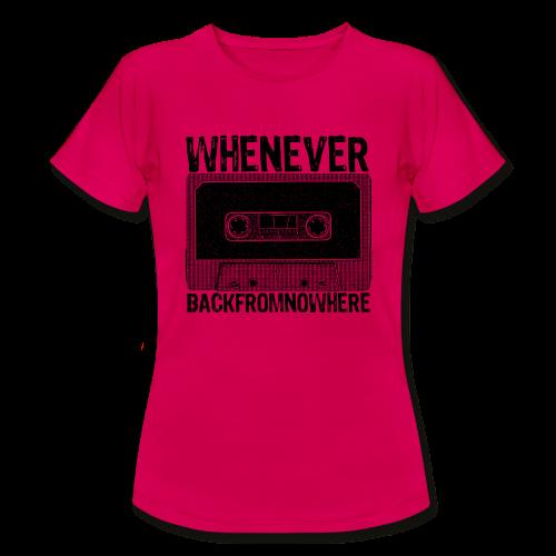 Retro Kassette - Frauen T-Shirt