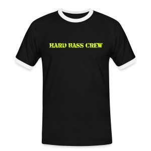 Hard Bass Crew HBC038 - Men's Ringer Shirt