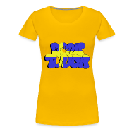 T-Shirts ~ Frauen Premium T-Shirt ~ don't touch - Sverige
