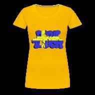 T-Shirts ~ Frauen Premium T-Shirt ~ don't touch - Sverige