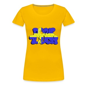 don't touch - Sverige - Frauen Premium T-Shirt