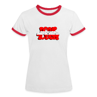T-Shirts ~ Frauen Kontrast-T-Shirt ~ don't touch - Sverige