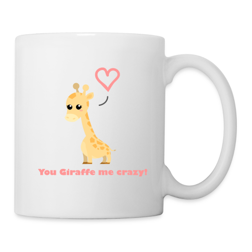 You Giraffe me crazy Mug (white) - Kop/krus