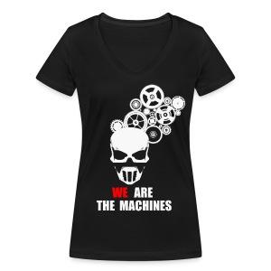 We Are Machines - Femme - T-shirt bio col V Stanley & Stella Femme