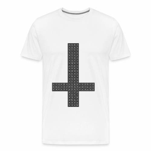 croix hipster - T-shirt Premium Homme