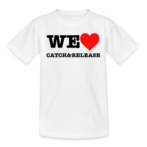 WE LOVE C&R T-Shirt Kindergröße - Teenager T-Shirt