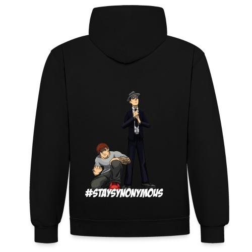 SynonymousVids Trui NIEUW DESIGN!!!!! - Contrast hoodie