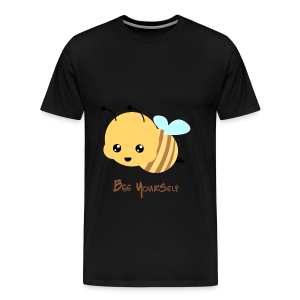 Bee Yourself - Herre premium T-shirt - Herre premium T-shirt