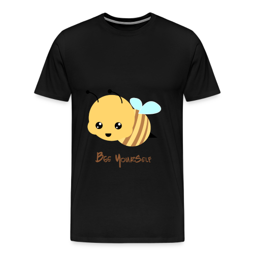 Bee Yourself - Herre premium T-shirt - Herre premium T-shirt