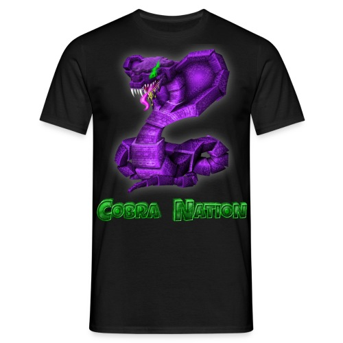 Mens Cobra Logo Blackout Edition - Men's T-Shirt