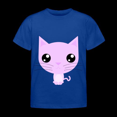 Purdy Kitty Pink - Børne-T-shirt - Børne-T-shirt