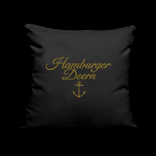 Hamburger Deern Anker Classic (Gold) Kissenbezug - Sofakissenbezug 44 x 44 cm