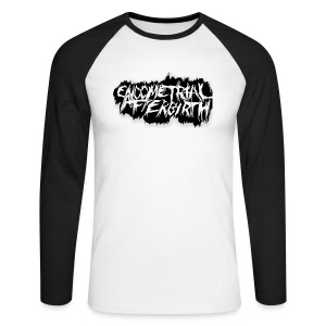 Longsleeve Shirt  (White) - Men's Long Sleeve Baseball T-Shirt