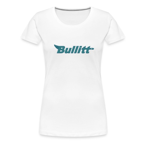 Barca Tour Blue glitter Logo Women's - Women's Premium T-Shirt