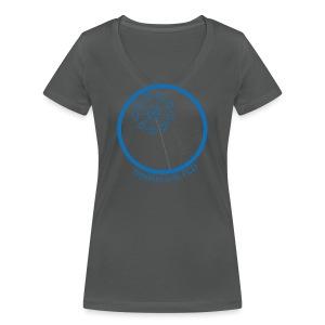 V-Neck-Shirt Damen Pusteblume - Frauen Bio-T-Shirt mit V-Ausschnitt von Stanley & Stella