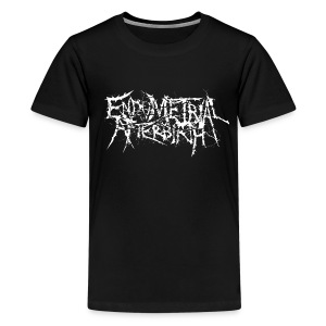 Teens T-Shirt (Black) - Teenage Premium T-Shirt