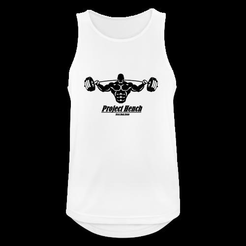 Project Hench Bodybuilding Vest - Men's Breathable Tank Top