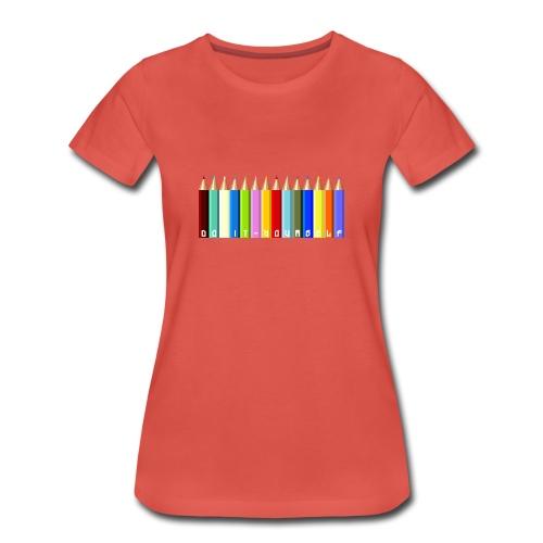 T-shirt femme Color - T-shirt Premium Femme