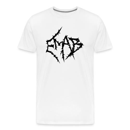 Mens Logo T-Shirt (White) - Men's Premium T-Shirt