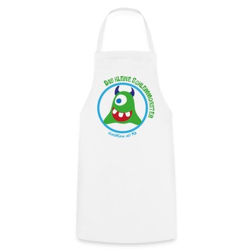 Kochschürze Schleimmonster dunkle Hörnchen - Kochschürze
