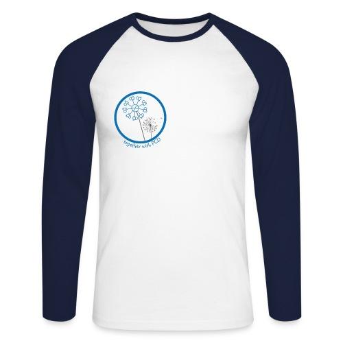 Baseballshirt Langarm PCD Herren Pusteblume  - Männer Baseballshirt langarm