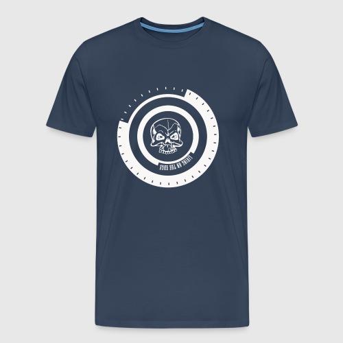 LIVING ON THE EDGE IIII - Herre premium T-shirt