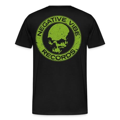 NVR T-Shirt Print Back - Premium T-skjorte for menn