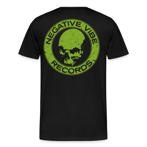 NVR T-Shirt Print Back - Premium T-skjorte for menn