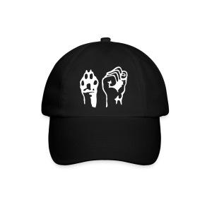 Pfote und Faust (Cap) - Baseballkappe