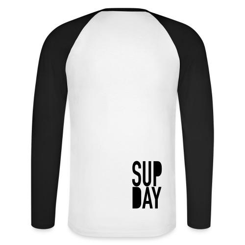 BASIC SUPDAY GENTS - Mannen baseballshirt lange mouw