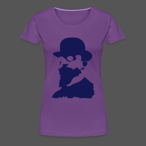 Satie Head Girl (13 colors available) - Women's Premium T-Shirt