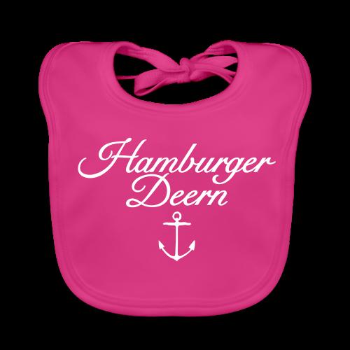 Hamburger Deern Anker Classic (Weiß) Babylätzchen - Baby Bio-Lätzchen