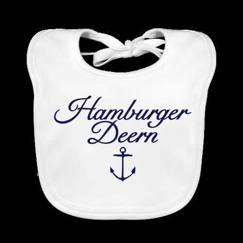 Hamburger Deern Anker Classic (Navy) Babylätzchen - Baby Bio-Lätzchen