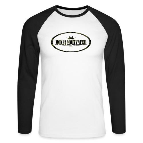 Money Motivated Longsleeve - Männer Baseballshirt langarm
