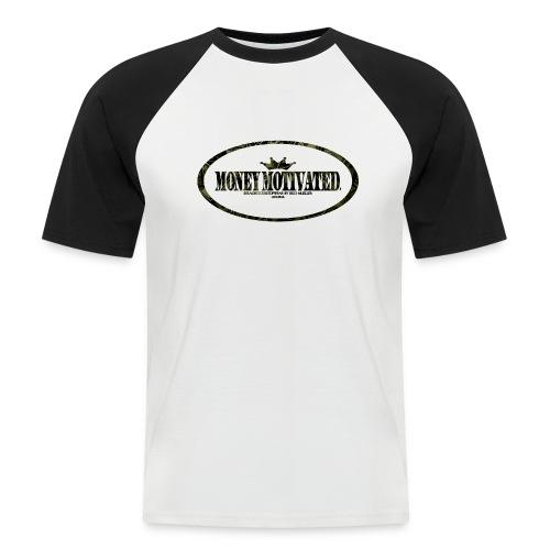 Money Motivated Shirt - Männer Baseball-T-Shirt