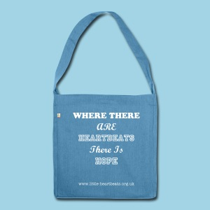 I Believe In Miracles  - Shoulder Bag made from recycled material