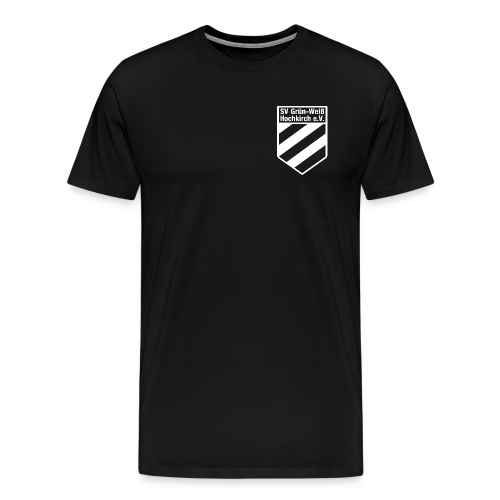 Shirt schwarz mit Logo für unsere Herren - ♂  - Männer Premium T-Shirt