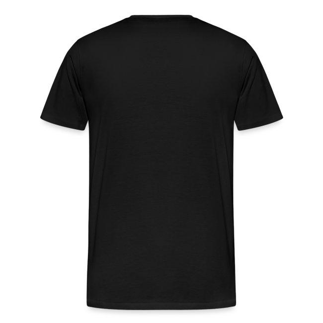 Shirt schwarz mit Logo für unsere Herren - ♂