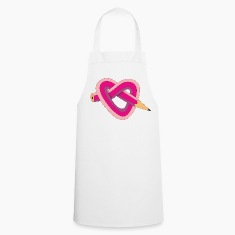 pencil heart  Aprons