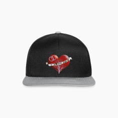 I love you grey Caps & Hats
