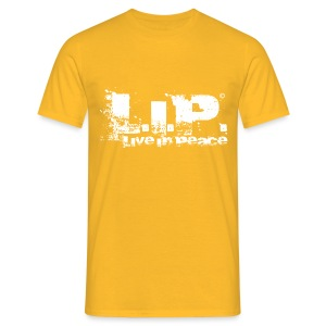 L.I.P. - Live In Peace - White - Männer T-Shirt