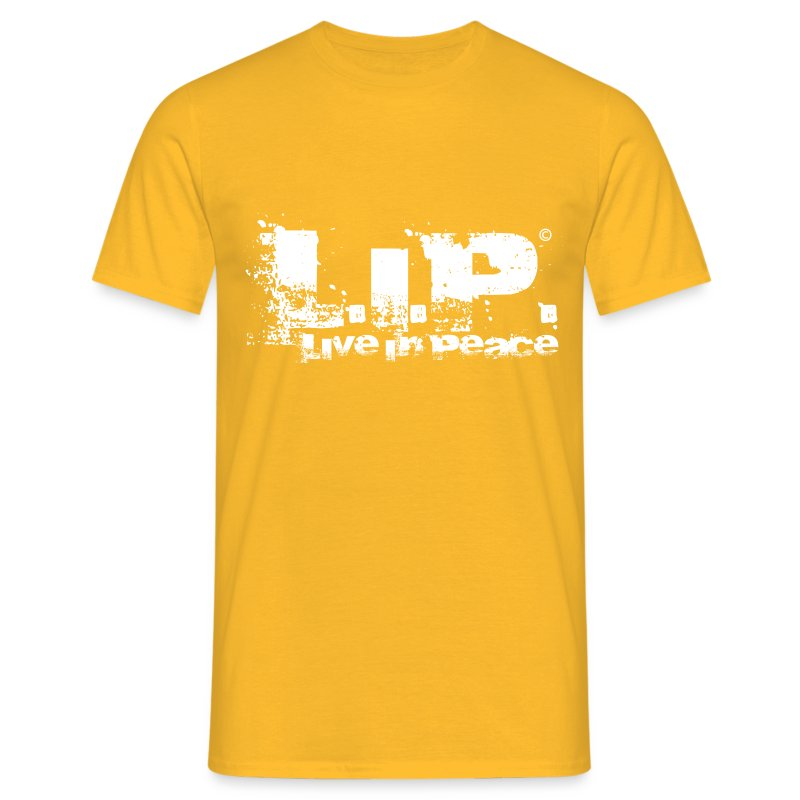 L.I.P. - Live In Peace - White - Männer T-Shirt
