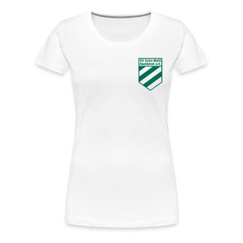 Shirt weiß mit Logo für unsere Damen - ♀ - Frauen Premium T-Shirt