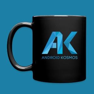 AK Tasse schwarz - Tasse einfarbig